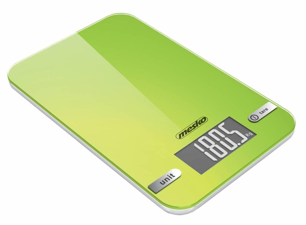 Mesko Mesko MS 3151 - Keukenweegschaal - digitaal - groen