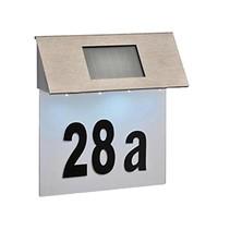 Haushalt  60224 - Huisnummer verlichting - solar - LED