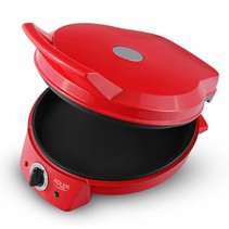 Adler AD 3033 - Grill - pizza oven - rood
