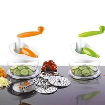 Maestro MR-1608 multifunctionele groentesnijder oranje