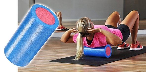 Haushalt Haushalt 66038 - Fitness rol - blauw/rood