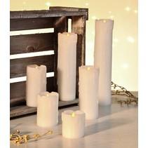 Haushalt 55047 - Kaarsen - vlamloos - LED -  set van 6 stuks