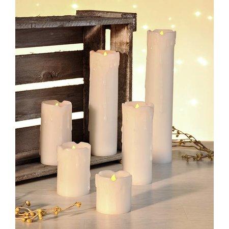 Haushalt Haushalt 55047 - Kaarsen - vlamloos - LED -  set van 6 stuks