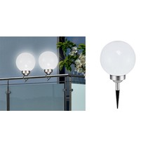 Haushalt 70302  - Bal lamp -  2 in 1-  LED -  solar -  20 cm