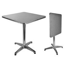 Haushalt 60294 - Bistro tafel - klapbaar - 60 x 60 x 70 cm
