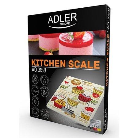 Adler Adler AD 3158-  Elektronische keukenweegschaal - gebakjesafbeelding