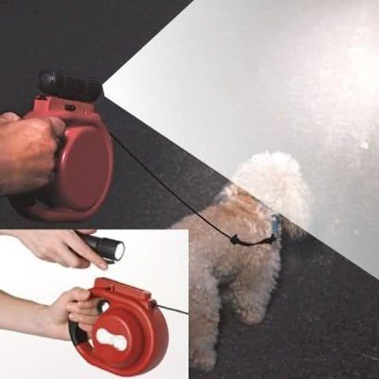 Daily Hondenriem met verlichting