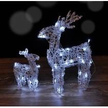 Haushalt 76163 -  Rendieren set - LED - kerst