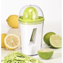 Haushalt 12058 - Spiraalsnijder & citruspers - 450 ml opvangbak