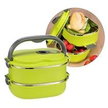 Haushalt 12218 - Lunchbox - groen - 0.6 liter
