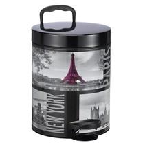 Haushalt 39047 - Prullenbak - 5 liter - stad motief