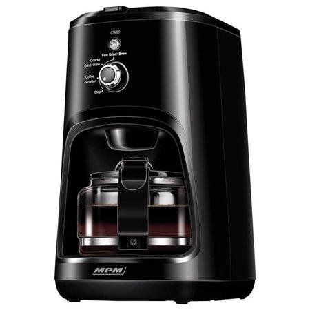 MPM MPM MKW-04 filter koffiezetapparaat met ingebouwde koffiemolen