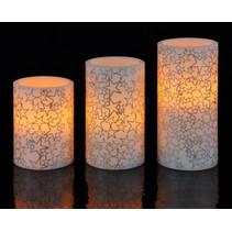 Haushalt 55080 - Kaarsen - LED - kerst patroon