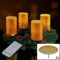 Haushalt 55068 - Kaarsen - LED - advent - afstandsbediening