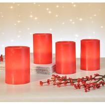 Haushalt 55066 -  Kaarsen - LED -  rood - advent