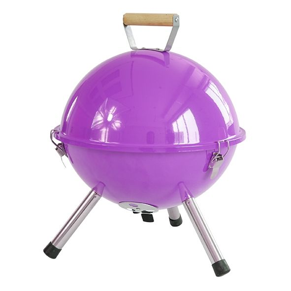 Haushalt Haushalt 60344 - Kogel barbecue - paars - Ø 32 CM