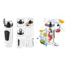 Haushalt 12224 - Sport drinkfles - met fruit infuser - 1 liter