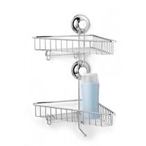 EL-10202 Hoekrek dubbel voor keuken en badkamer