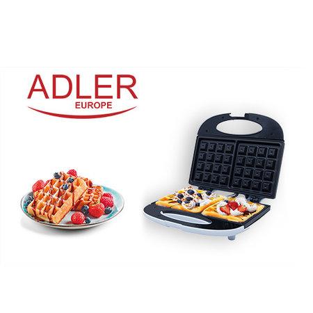 Adler Adler AD 311 - Wafelijzer - 700 Watt