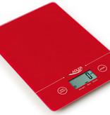 Adler Adler AD 3138r - Keukenweegschaal - elektrisch - rood