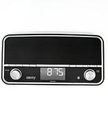 Adler Camry CR1151w - USB Radio - wit - bluetooth - LCD scherm