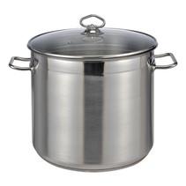 Haushalt 22057 - Soeppan - 15 liter - glazen deksel