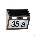 Haushalt Haushalt 60253 - Huisnummer verlichting - solar - bewegingsmelder