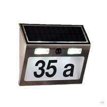Haushalt 60253 - Huisnummer verlichting - solar - bewegingsmelder