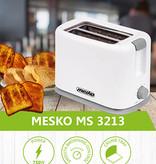 Mesko Mesko MS 3213 - Broodrooster - wit - 750 Watt