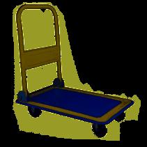 Haushalt  95028 - Transportwagen -73 x 48 cm