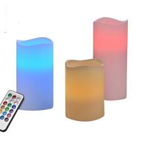 Haushalt 55038 - Kaarsen- vlamloos - LED - set van 3
