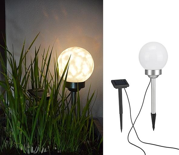 Haushalt Haushalt  Solar Priklamp / Tuinverlichting - set van 2