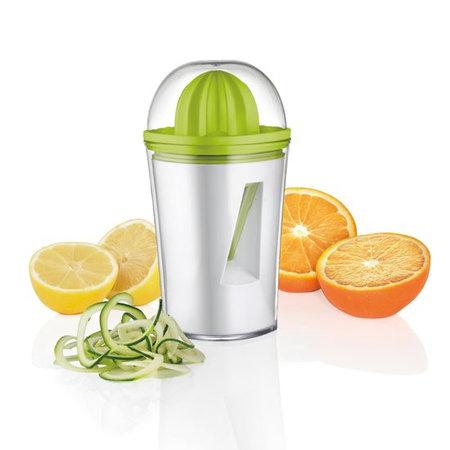 Haushalt Haushalt 12058 - Spiraalsnijder & citruspers - 450 ml opvangbak