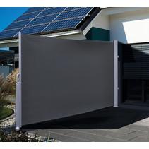 Haushalt 60250 - Uitschuifbaar Windscherm - Antraciet - 160x300 cm