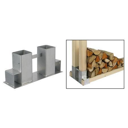 Haushalt Haushalt 60212 - Stapelhulp voor houtopslag