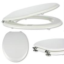 33262 - Toilet bril met deksel - MDF- hout