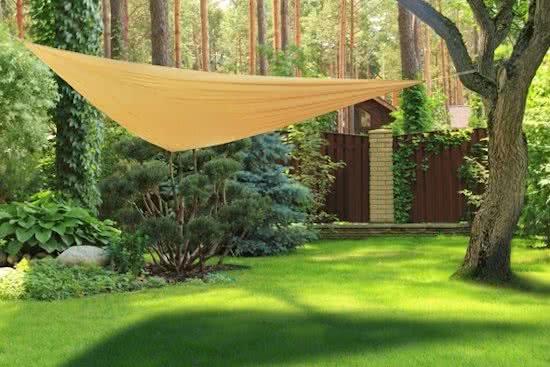 Haushalt Haushalt 62313 - Zonnedoek - polyester - 3 x 3 meter