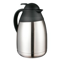 Haushalt 26011 - Thermoskan - 1.5 Liter - dubbelwandig -  matt RVS