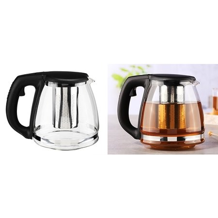 Haushalt Haushalt 16031 - Theekan - 1.4 liter - met filter - glas