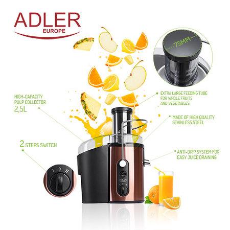 Adler Adler AD4123 - Sapcentrifuge - 1000 Watt