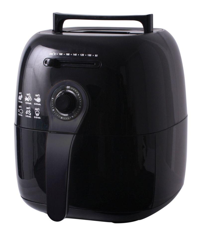 MOA Moa Design Perfectfry Air Fryer hetelucht friteuse Black Pearl Edition