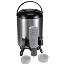 Haushalt 26106 - Thermoskan waterpot - 2 tapkranen - 9 liter