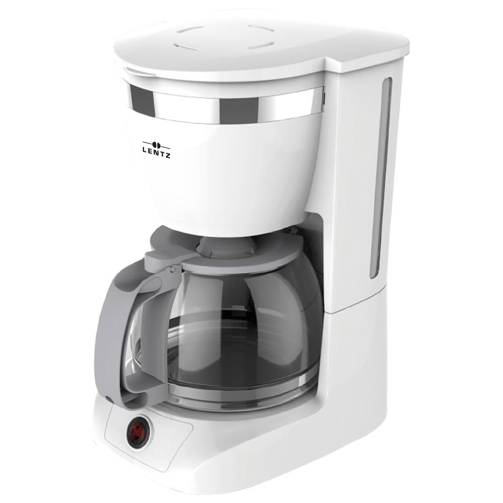 Lentz Lentz 74103 - Koffiezetautomaat - wit - 800 Watt