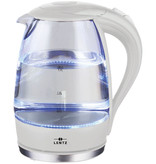 Lentz Lentz 74100 - Waterkoker - 1.7 liter - glas - wit