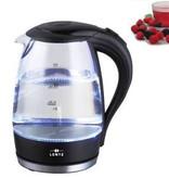Lentz Lentz 74101 - Waterkoker - 1.7 liter - glas - zwart