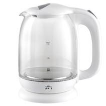 Lentz 74124 - Waterkoker - 1.7 liter - glas - wit