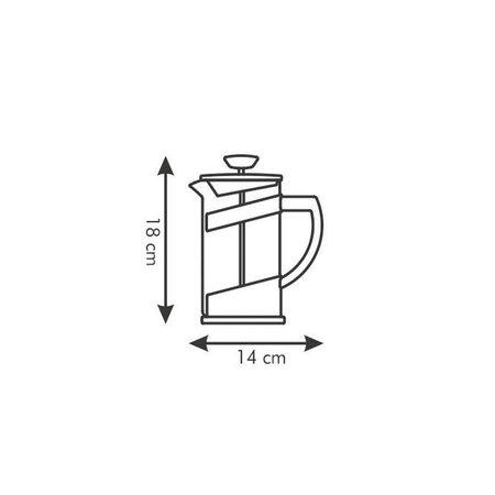 Tescoma Tescoma - TE646632 - Koffie/ thee kan - glas - 0.6 liter - TEO