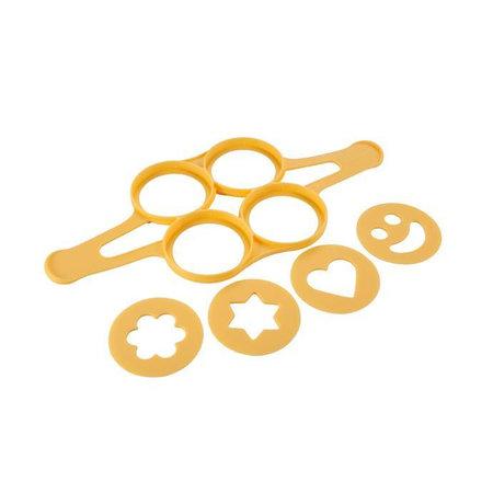 Tescoma - TE420872 - Pannenkoekenbakvorm - siliconen - 4 stuks