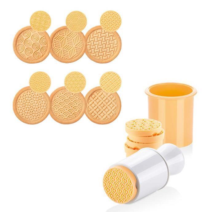 Tescoma - TE630110 - Koekjesstempel - 6 patronen - siliconen