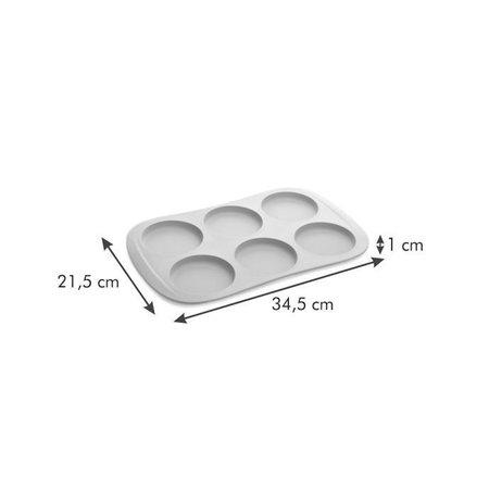 Tescoma - TE629518 - Broodjes bakvorm - hamburger - siliconen - Ø 9 cm